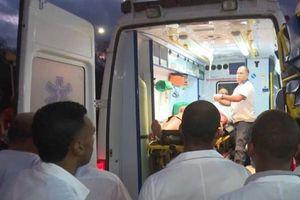 Lật xe buýt tại Cuba, 40 thương vong