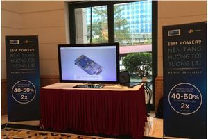 IBM giới thiệu dòng máy chủ trang bị bộ xử lý Power9 tại Việt Nam