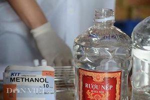 Ngộ độc Methanol tàn phá cơ thể 'kinh khủng' thế nào?