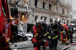 Nổ khí gas ở trung tâm Paris, nhiều người bị thương