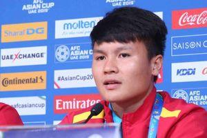 Asian Cup 2019: Quang Hải nói gì trước trận quyết đấu Iran?