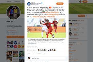 Báo chí châu Á khen màn trình diễn quả cảm của tuyển Việt Nam