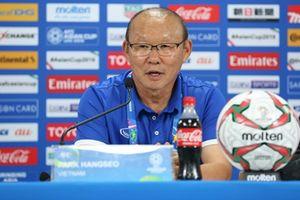 HLV Park Hang-seo nói gì sau trận thua thứ 2 của tuyển Việt Nam?
