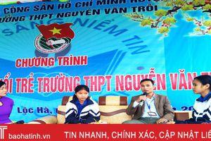 'Thắp sáng ước mơ tuổi trẻ' Trường THPT Nguyễn Văn Trỗi