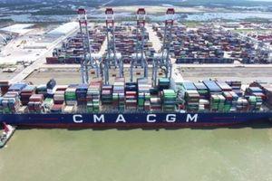 Siêu tàu container 17.000 TEU cập cảng mở dấu mốc mới cho CMIT