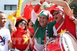 ASIAN CUP 2019 Việt Nam - Iran: Không gì cản được tình yêu của người hâm hộ