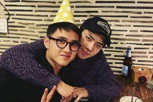 D.O (EXO) mượn Instagram của Sehun để cảm ơn fan đã chúc sinh nhật mình nhưng lại chẳng biết dùng ra sao