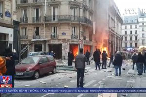 Rò rỉ khí ga là nguyên nhân gây ra vụ nổ lớn ở Paris, Pháp