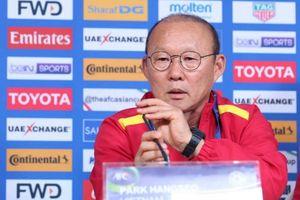 HLV Park Hang Seo quyết tâm giành kết quả tốt trước ĐT Iran