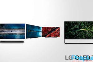 HOT tại CES 2019: LG ra mắt TV 8K OLED 88 INCH và TV OLED cuộn đầu tiên trên thế giới