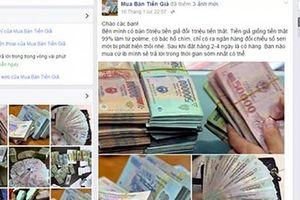 Ngăn chặn nhiều vụ mua bán hàng cấm qua mạng xã hội