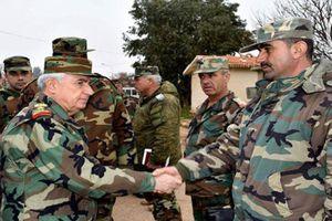 Bộ trưởng Quốc phòng Syria đến các tiền tuyến ở Hama để làm gì?