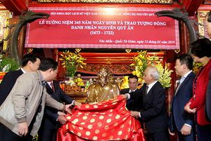 Tưởng niệm 345 năm Ngày sinh Hoàng Giáp Nguyễn Quý Ân