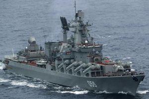 Tuần dương hạm có sức mạnh đáng gờm nhất của Hải quân Nga
