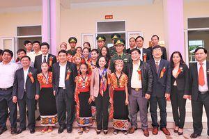 Khánh thành công trình khu nhà ở nội trú Trường THCS Môn Sơn