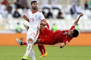 VFF: 'Đức Huy bị mất trí nhớ tạm thời sau va chạm với cầu thủ Iran' ở Asian Cup 2019