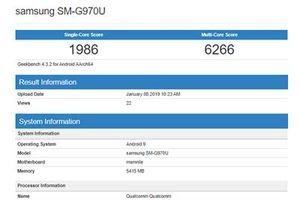 Galaxy S10 Lite cho thị trường Mỹ xuất hiện trên GeekBench
