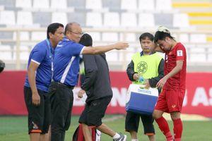AFC khẳng định Đức Huy choáng nhưng sẽ ổn sau trận gặp Iran