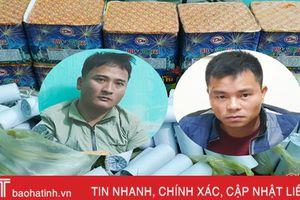 Công an Hương Sơn liên tiếp bắt quả tang 2 vụ buôn bán pháo