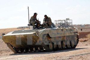 Syria triển khai lực lượng tới Hama chuẩn bị cho chiến dịch quân sự