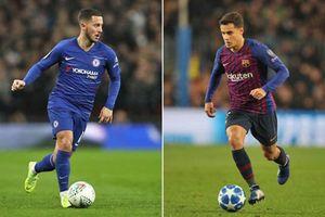 CHUYỂN NHƯỢNG (13/1): Chelsea muốn đổi Hazard lấy Coutinho, M.U 'chảy máu' lực lượng