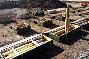 Quân đội Syria thu giữ một số lượng lớn vũ khí của phe Hồi giáo cực đoan