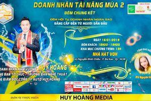 Nam vương Huy Hoàng - ông trùm showbiz Việt chơi lớn với 'Doanh nhân tài năng mùa 2'