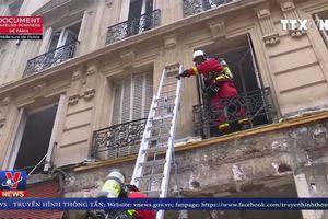 Vụ nổ gas ở Paris: Thông tin mới nhất về số người thương vong