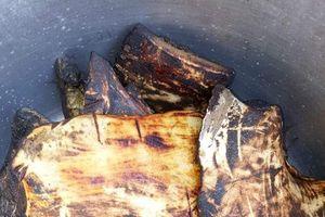 Độc đáo: Da trâu muối chua làm ra món giòn ngon hết xảy ở Sơn La