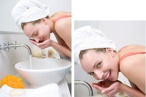 Mẹo rửa mặt đúng cách để da không bị nhăn