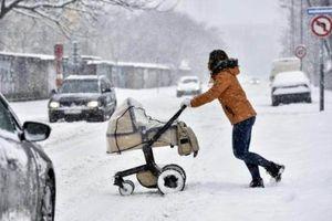 Châu Âu: Tuyết rơi dày kỉ lục khiến ít nhất 14 người thiệt mạng