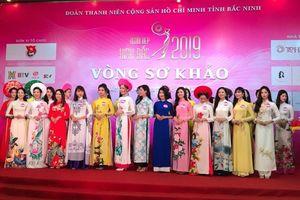 30 thí sinh vào chung khảo cuộc thi 'Người đẹp Kinh Bắc 2019'