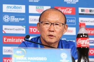 HLV Park Hang Seo: Sẽ dốc sức trong trận gặp Yemen