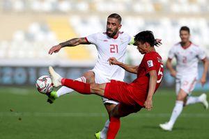 Báo châu Á tiếc cho ĐT Việt Nam sau thất bại 0 – 2 trước Iran