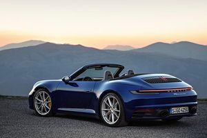 Porsche 911 Cabriolet mới, nhanh và mạnh hơn