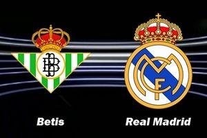 Real Betis - Real Madrid: Đội khách lại mất điểm?