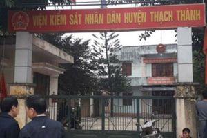 Thanh Hóa: Viện phó VKSND tử vong trong tư thế treo cổ tại cơ quan