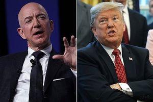 Tổng thống Mỹ chế giễu tỉ phú giàu nhất thế giới Jeff Bezos