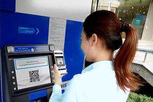 Có thể rút tiền mặt tại ATM bằng mã QR