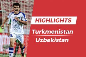 Highlights Asian Cup 2019: Turkmenistan 0-4 Uzbekistan