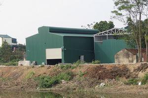 Xã Hiền Giang, Huyện Thường Tín: Nhiều công trình xây dựng trái phép trên đất nông nghiệp