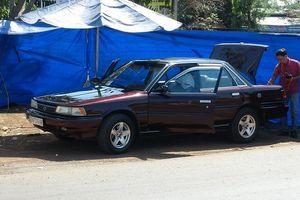 Ô tô của cán bộ Chi cục Kiểm lâm Bình Phước nghi bị đặt mìn tự chế