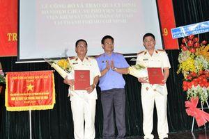 Bổ nhiệm lãnh đạo Viện KSND cấp cao tại TPHCM