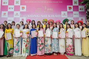 30 thí sinh vào chung kết 'Người đẹp Kinh Bắc 2019'