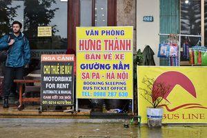 Xử phạt xe khách Hưng Thành 'bắt khách' trên đường trái quy định