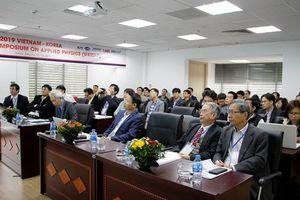 Gần 20 nhà khoa học Hàn Quốc sang Việt Nam dự hội nghị vật lý ứng dụng