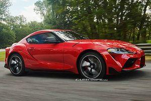 Cận cảnh Toyota Supra 2020 giá từ 1,48 tỷ đồng
