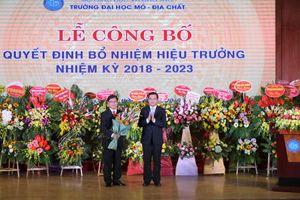 GS.TS Trần Thanh Hải giữ chức vụ Hiệu trưởng Trường Đại học Mỏ - Địa chất