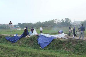 Hà Nội: Dân tự động tháo dỡ lều bạt, không còn chặn xe rác ở Sóc Sơn