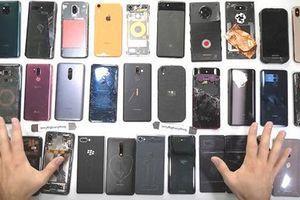 Đâu là chiếc smartphone bền nhất năm 2018 do JerryRigEverything đánh giá?